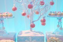 frozen/winter Wonderland theme party
