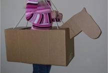 Horse costume box