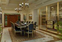 Home residence design for Ali Marakkar(Arabian design) / Interior designing
