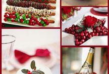 Christmas theme wedding