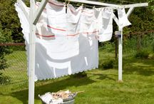 HANGING IN THERE / Clotheslines / by fred c