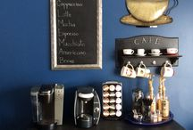 Coffee Stations / Section for coffees