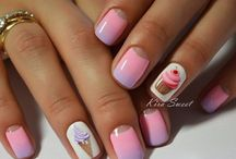 Rózsaszín-Lila körmök