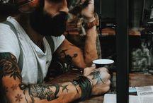 Beards and tat's