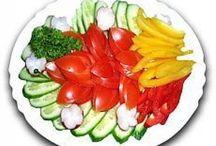 décoration de légumes