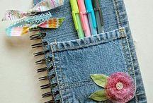 Cosas creativas con jeans