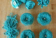 Fleurs en Tissu / Fleurs en Tissu