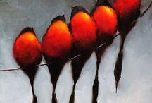 Art - Birds / by Michelle Crain