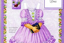 Add on bodice bib and collar ideas / By just laying a shape on top of the dress bodice you can create a different look.