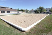DIY sport courts