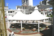 Tensile Fabric Structures / Ekra Decor - Established in the year 1998, are well known by its name in the field of design and construction of Tensile structure, Parking Shades, Polycarbonate Structure, Domes, Gazebo, Tensile membrane structures. Now we registered as a EKRA DECOR in Gurgaon, New Delhi, India. #TensileStructure