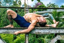 Yoga Dudes / Guys doing yoga.