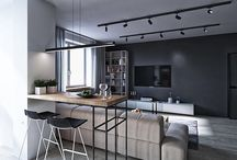 lounge rooms/dinning areas