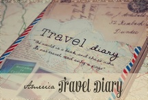 Travel Journal 4 Trailer / This is for a family journal I plan to make and keep in our RV. When we go on a trip, everyone in the family will have to write a short blurb about their experience and I will do the rest, adding pics, maps, reciepts, etc.