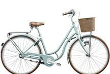 Vintage bikes. / I would one of these lovely bikes for my birthday :)