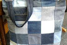 Naaien met jeansstof