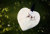 Inspiratie voor huwelijk (shoot) / Een bord vol ideetjes voor een originele en mooie fotosessie van het getrouwde koppel