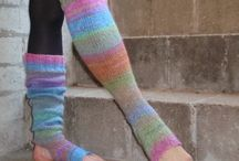socks and legwarmers