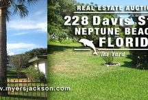 Neptune Beach House for Sale at Auction / Neptune Beach House for Sale at Auction , Check out the Mid-Century Modern home nee Atlantic Beach, Jacksonville Beach