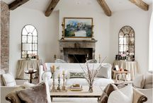 Rustic Glam Home Decor / Rustic Decor Mixed with elegant Glam Decor