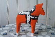 DALA Swedish horse / Reminds me of my childhood