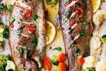 Ψάρια και θαλασσινά παρουσίαση