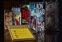 "Mystery & Suspense Month / This month we celebrate the 75th Anniversary of ""Fear"" - the best-selling work of fiction by L. Ron Hubbard, as well as several of his other Horror & Suspense Novels."