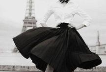 Moda lata / Mode Jahre - 40, 50, 60