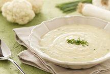 Zuppe , minestre e vellutate