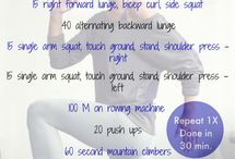 Workouts / Exercise