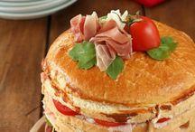 Panettone gastronomico / Panettone salato