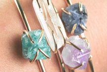 Bracelets / All kinds of bracelets! Bangles, wrap bracelets, precious metals, stacking bracelets, handmade bracelets, fabric bracelets. Amazingness for the wrists!