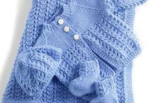 Baby knitting coats & sets