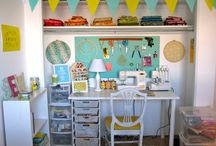 Sewing Room Ideas / by Gabrielle Embry Richards