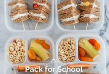 Lunch box ideas / Healthy eats