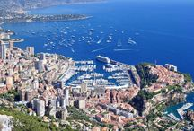 Monaco / situated along the French Riviera great honeymoon for those seeking beauty, luxury, fine dining, shopping and beaches / by Caren Moongate Wedding Event Planner