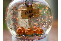 Halloween Snow Globes / by Jean Keeler