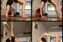 Flexibility / Stretching poses to improve flexibility for dancing.