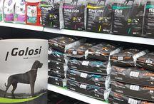 Golosi Spots! / Οι τροφές μας σε πλήρη παράταξη στα ράφια των Pet Shop , με στυλ και φινέτσα made in Italy!