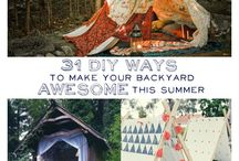 Garden tents/tepees