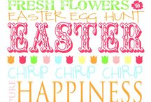 easter / easter is such a fun holiday - especially since it's during spring - one of the most gorgeous times a year! i like to celebrate [and look forward to celebrating] with friends & family.