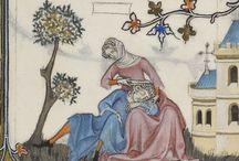 Hovedtøj - Middelalder