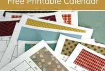 Printables and lists...