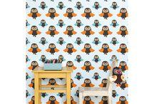 Kids&... Owl! / Onze jongste dochter Fiep heeft'n slaapkamertje in het uilen-thema gehad, vooral haar moeder vond dit erg leuk!