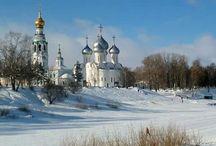 Arhitectură bisericească din Rusia.