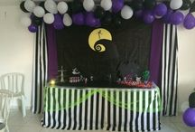 Nightmare Before Christmas - Theme Party