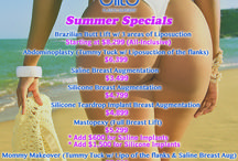Special Promotions / Special pricing promotions on plastic surgery by board certified plastic surgeon Dr. Moises Salama.