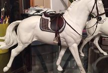 Customised Copperfox Model Horses / Pins and Images of Copperfox Models that have been customised by individuals
