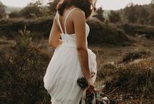 boho bohemien bridal shoot