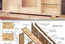 Baupläne Holz
